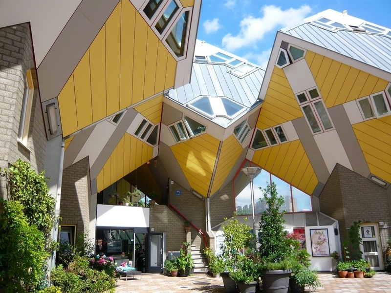 Кубические домики